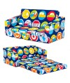 Road Signs Children's 'Lily' Foam Fold Out Sofa Bed Lounger