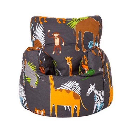 Africa Design Childrens Bean Bag Chair