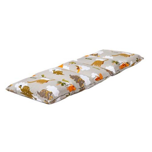Jurassic Design Folding Sleepover Nap Mat With Ties