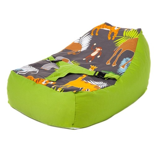 Africa Design Baby Bean Bag Lounger with Safety Harness
