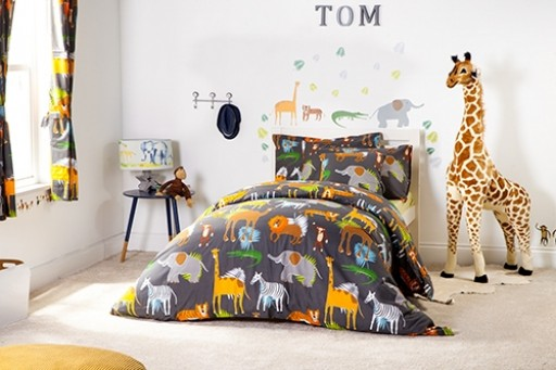 Africa Design Children S Single Size Duvet Cover Set