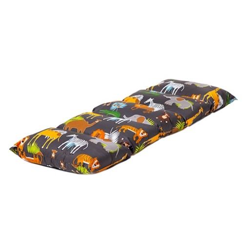 Africa Design Folding Sleepover Nap Mat with Ties