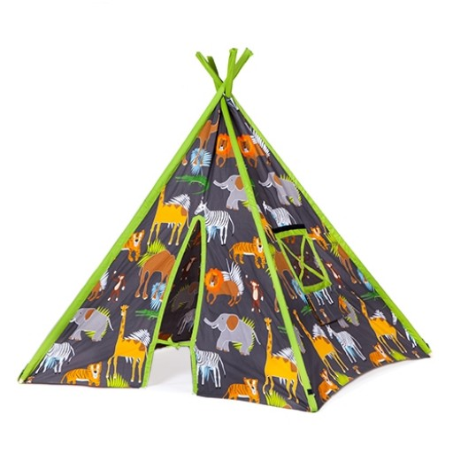 Africa Design Children's Fold Away Play Tent Teepee
