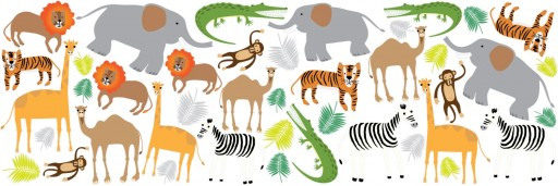 Africa Design Children's Vinyl Wall Stickers Room Decor