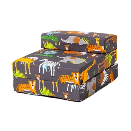 Africa Design Children's Fold Out Single Z Bed Chair